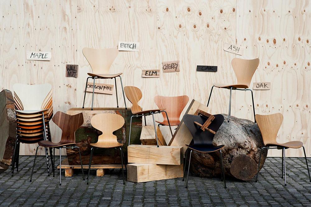 Mach dich mit den Herstellern früherer und heutiger Design-Klassiker vertraut